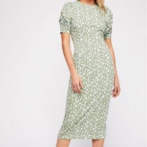 Free People Rosie Knit Midi Dress